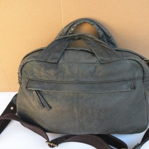 J. CREW DISTRESSED LEATHER BAG